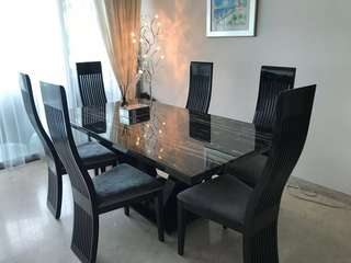 Dining Table and Chiars