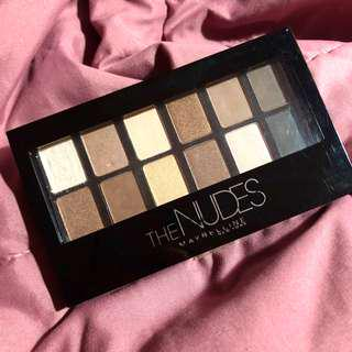 maybelline nude eyeshadow pallete