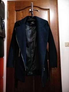 質感深藍色外套
