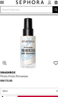 ON SALE! Smashbox Photo Finish Primerizer, 30ml