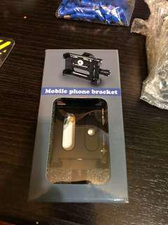 Phone holder for any 2wheels vehicles