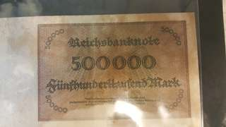 Old Germany world war 1 dollar
