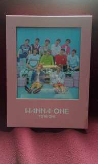 [NEGO AJA BUTUH UANG] Wanna One To Be One Album Pink Ver