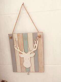 scandinavian wooden hanging