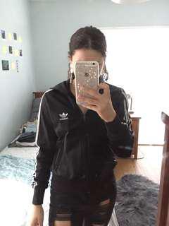 Adidas striped jacket