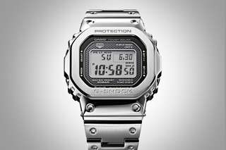 Brand New Original CASIO G-SHOCK GMW-B5000D-1DR GMW GMW-B5000D Silver