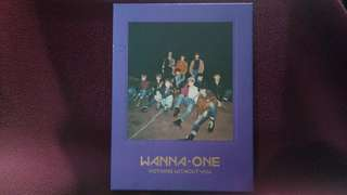 [NEGO AJA BUTUH UANG] Wanna One Album Nothing Without You Wanna Ver