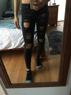Super ripped jeans