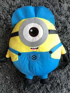 Minion toy backpack - Despicable Me. Still with tags