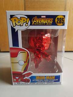 Funko Red Chrome Iron Man