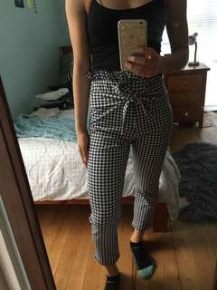 Prettylittlething checkered pants