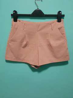 High Waist Cotton Shorts