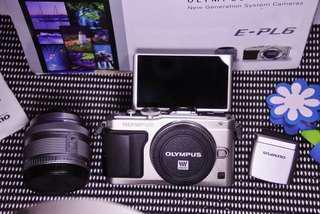 Kamera mirrorless Olympus epl6 fullset