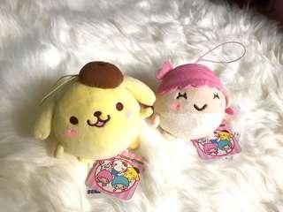 布甸狗 little twin stars 毛公仔