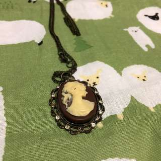 Vintage Necklace with Pendant