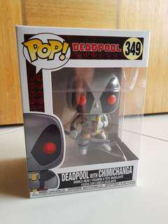 Funko Deadpool with Chimichanga