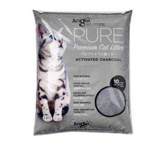 Angel Pure Premium Cat Litter Activated Charcoal