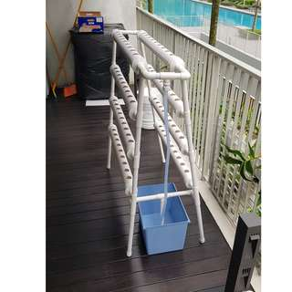 Hydroponic System (4 tiers , double sided)