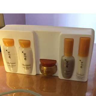 Sulwhasoo Basic Travel Kit First Care Serum Essential Balancing Eyecream Ginseng