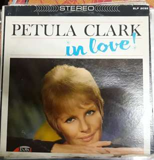 LP Record Vinyl Petula Clark - In Love Album G/VG++