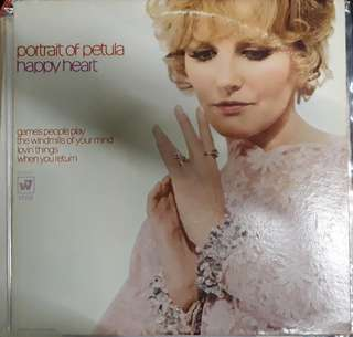 LP Record Vinyl Petula Clark - Happy Heart VG+/VG++