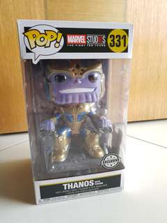 Funko Thanos with Throne