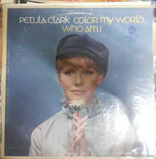 LP Record Vinyl Petula Clark - Color my World VG++/VG++