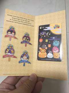Brand new tsum tsum limited edition ezlink card for sale!