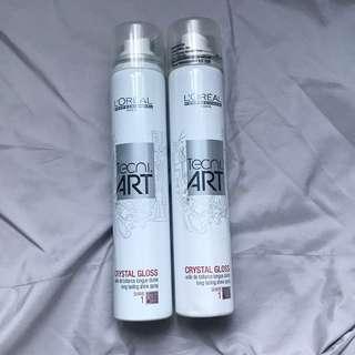 L'oreal TecniArt Hair Shine Spray