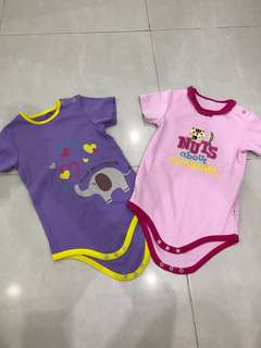 BNWT Baby Rompers