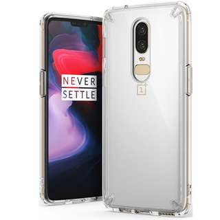 Ringke Fusion OnePlus 6 Drop Tested Clear Case Casing Cover