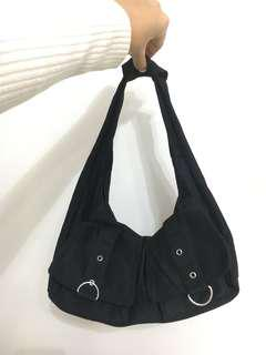 Small bag with silver hardware