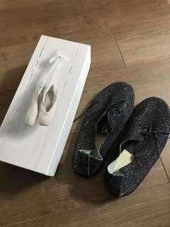 Anniel Black glitter shoes