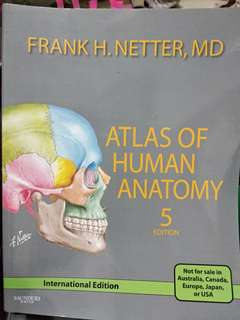 Netter's Atlas of Human Anatomy 5th Edition