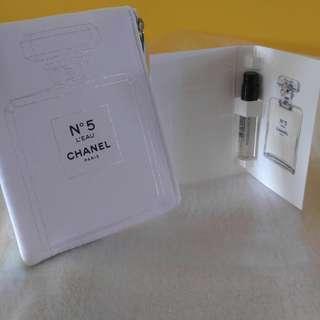 Chanel N°5 L'EAU 散子包 香水版 香水