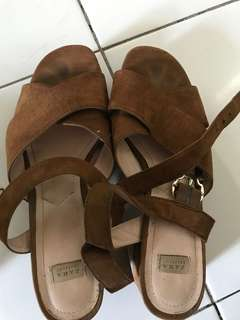Zara chunky shoes