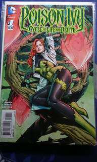 Poison Ivy Cycle of Life and Death complete set of 6 Issues