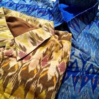 Batik tenun 2pcs