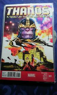 Thanos A God up there Listening complete set of 4 issues