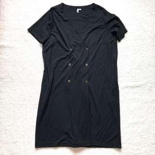 ASOS Black Tux Dress