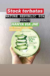 Nature republic original aloevera shooting gel