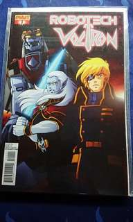 Robotech voltron crossover complete set of 5 issues