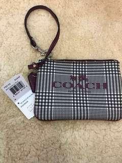Original coach women wristlets purse wallet coin holder