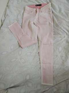 Authentic Levi's Light Pink Low Rise Jeans