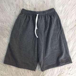 Gray Jogger Shorts