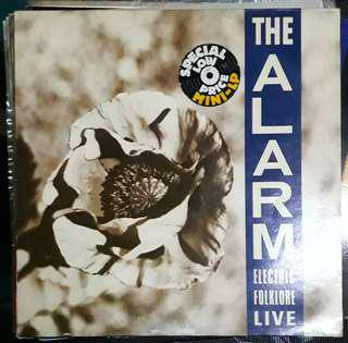 LP Record Vinyl The Alarm - Electric Folklore Live VG++/NM