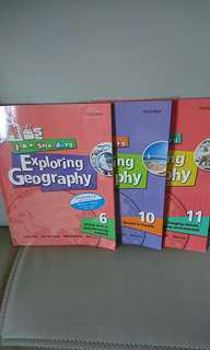 $100 for 3, Exploring Geography book 6, 10 及11,book6及10有寫花,book 11全新,不想浪費所以平售