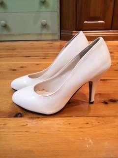 Cream White Pump Heels