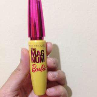 Maybelline magnum barbie mascara