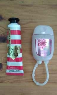 BN Bath & Body Works Hand Cream & Hand Sanitizer Set